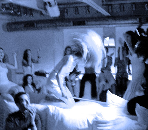 Ute Passionflower playing an event on the Supperclub Cruise