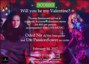Live on Valentine's Day: Ute Passionflower and Oded Nir