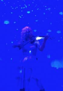 Ute Passionflower- (electric) violin performances, custom songs, composition