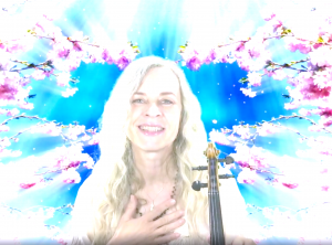 Ute is singing and playing live on Insight Timer, tomorrow, Whitsunday, at 9pm CET