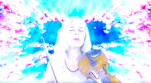 Ute singing and playing live on Insight Timer, on Sunday, June 6th, at 9pm CET