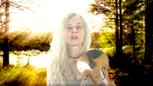 Ute Apfelstedt Passionflower playing and singing live on Insight Timer, tomorrow, Sunday oct 3rd, at 9pm CET